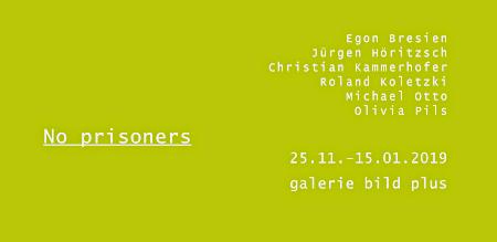 invitation to the exhibition no Prisoners